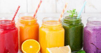 Ejemplos de recetas para smoothies