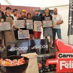 Luis Asensio ganador de la II Edición del Concurso de Steak Tartare de Meat Carnival
