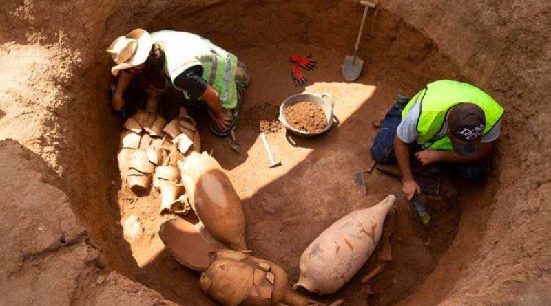 Descubren en Badalona restos de una villa romana que exportaba vino por todo el Imperio