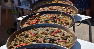 Mañana 20 de Septiembre celebramos el día de la paella