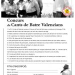 Participa en el Concurso de Cants de Batrepor Arroz de Valencia
