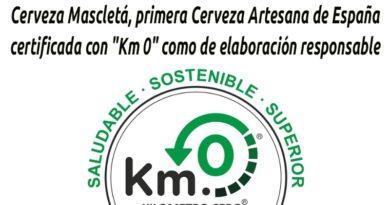 Cerveza Mascletá, primera cerveza artesana de españa certificada con km 0 como de elaboración responsable