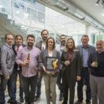 """Cerveceros presentan el sello de calidad """"VALENCIAN CRAFT BEER"""" en el centro de artesanía"""