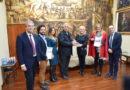 Presentación del consorcio europeo del Camino del Santo Grial en el Ateneo de Valencia