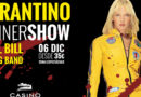 Nueva sesión del Tarantino Dinner Show, en Casino Cirsa Valencia