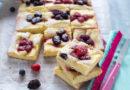 Receta Tarta de manzana y frutas del bosque
