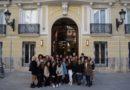 Las alumnas  del Ciclo Superior de Gestión de Alojamientos Turísticos de Altaviana visitan el Hotel Palacio Vallier