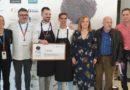 Marc Martorell, de Gaudir Restaurant, de Alcossebre (Castellón)ha ganado la tercera edición del Concurso Gastronómico Valenciano de la Trufa de Andilla