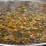Receta de la Paella De Fetge de Bou ( hígado de toro)