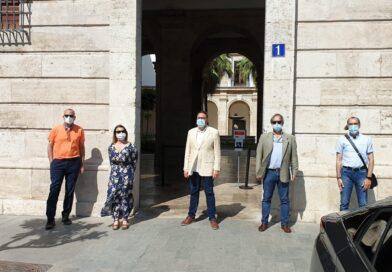 Los hosteleros de Valencia trasladan al Gobierno sus reivindicaciones