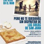 Los panaderos y pasteleros de Valencia rinden homenaje a las Cocas de San Juan coincidiendo con la celebración de su festividad en toda la Comunidad