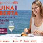 Abiertas las incripciones al FESTIVAL GASTRONÓMICO VALÈNCIA CUINA OBERTA en una edición especial verano 2020