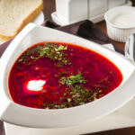 Receta de borscht o sopa de remolacha en INSTANT POT