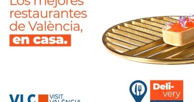 """Visit València lanza la campaña """"Elige. Pide. Disfruta"""" para incentivar el consumo de restauración valenciana en casa"""