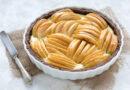 Tarta de cacao con crema de ricotta y manzanas Val Venosta