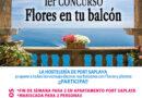 """Port Saplaya se viste de colores"""", un concurso para llenar de flores el vecindario"""