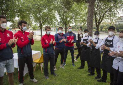Cisco García y los participantes de talento Cruzcampo diseñan una receta con mucho acento para los juegos olímpicos de Tokio