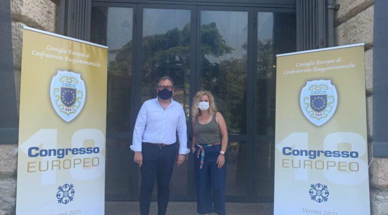 """José Martí recoge  en Verona el premio """"Aurum Europa Excelence Enogastronomic"""" por la calidad de los productos de Castelló Ruta de Sabor"""