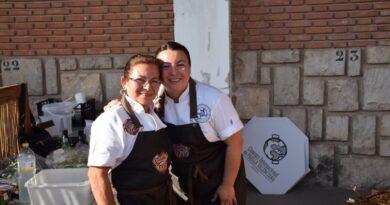 La chef americana Natalie Curie (USA) conquista Valencia con sus paellas